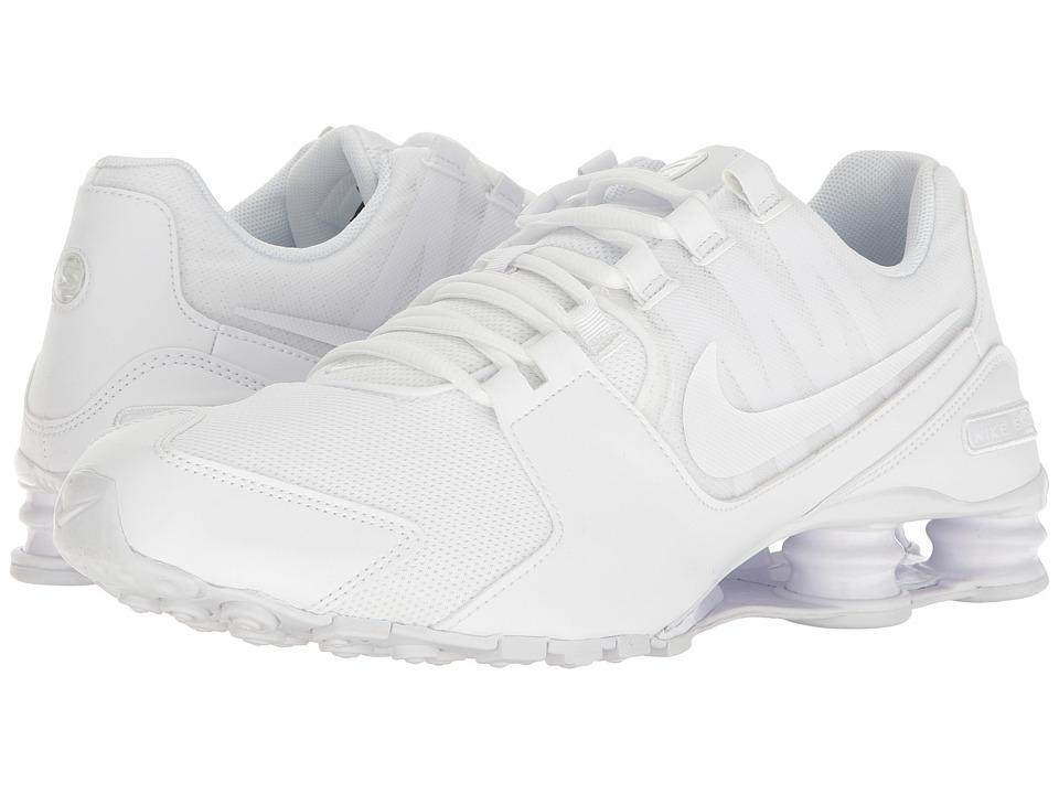 Nike Shox Avenue (White/White/White) Men