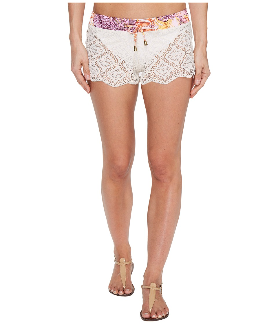 Maaji Maaji - Bombon Apricot Shorts Cover-Up