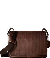 COACH - Bleecker Embossed Courier Bag
