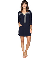 Lucky Brand - Embellished Knit Tunic w/ Pocket
