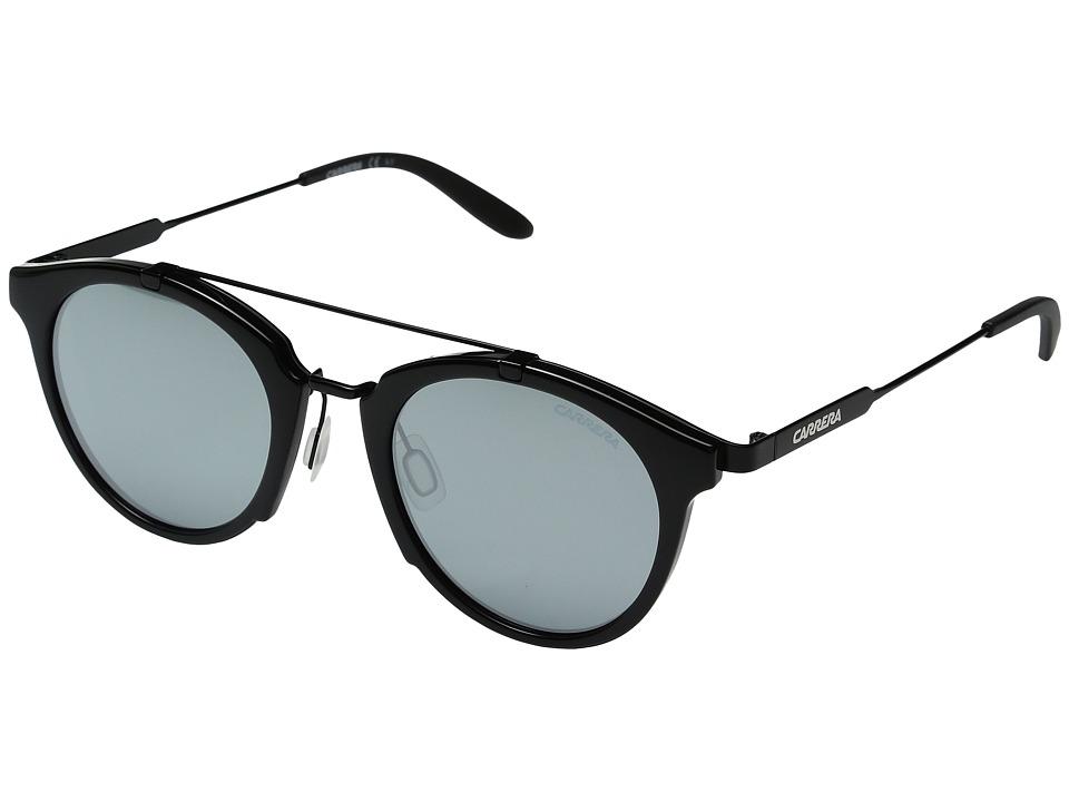 Carrera - Carrera 126/S (Shiny Black Gold/Black Mirror) Fashion Sunglasses