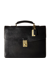 COACH - Textured Leather Large Attache