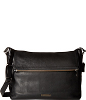 COACH - Thompson Leather Zip Top Messenger Bag
