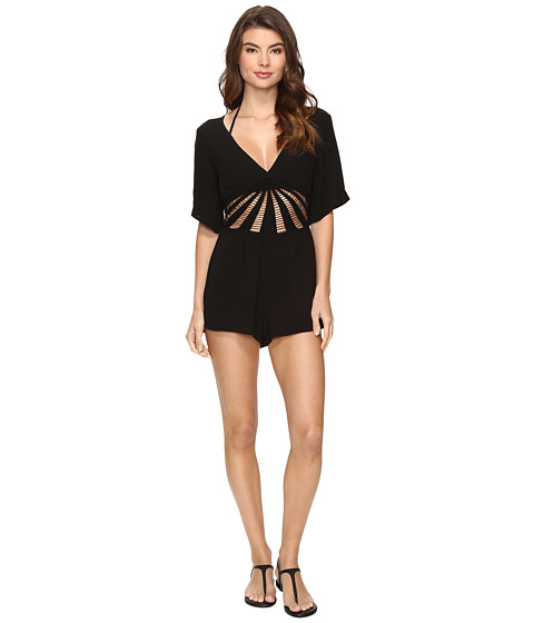 BECCA by Rebecca Virtue Sunburst Romper Cover-Up