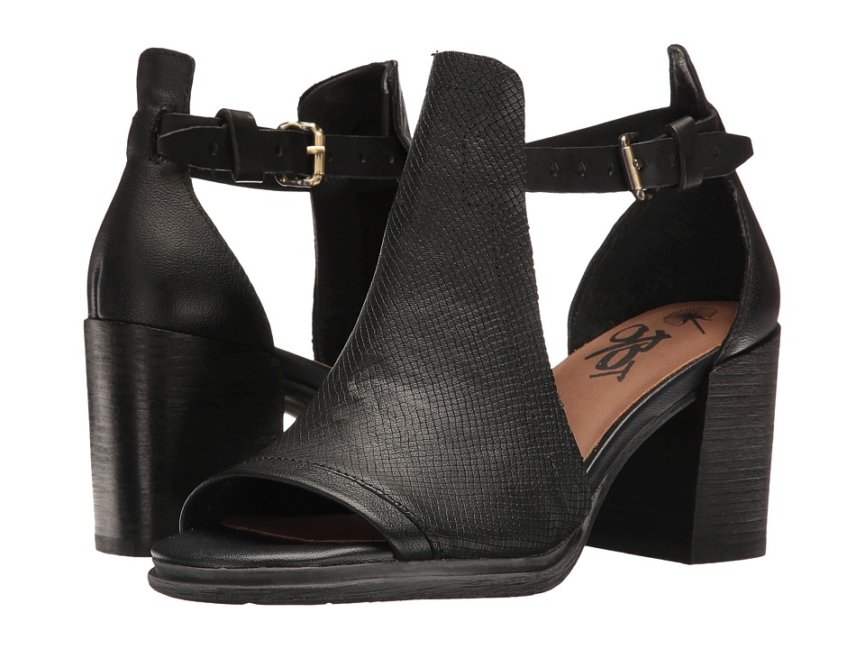 OTBT Metaphor (Black) Women's Toe Open Shoes