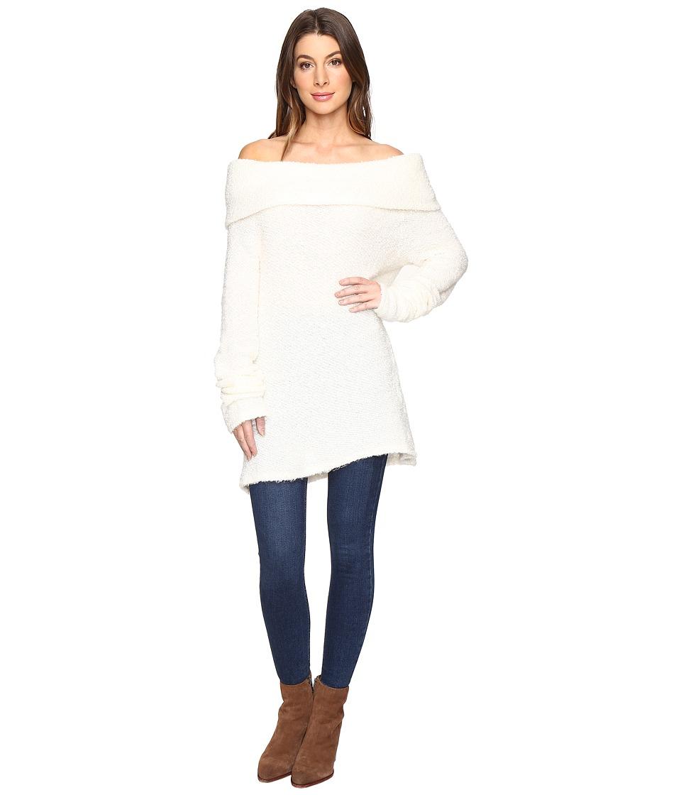 Project Social T - Monet Off Shoulder Loop Sweater