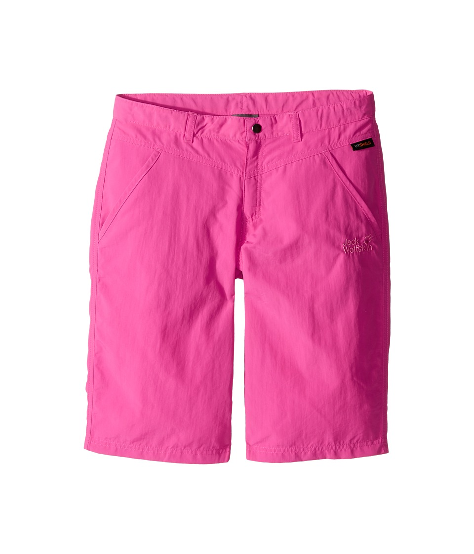 Jack Wolfskin Kids - Sun Shorts (Little Kid/Big Kid) (Tropic Pink) Girls Shorts