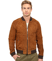 COACH - Suede Aviator Jacket