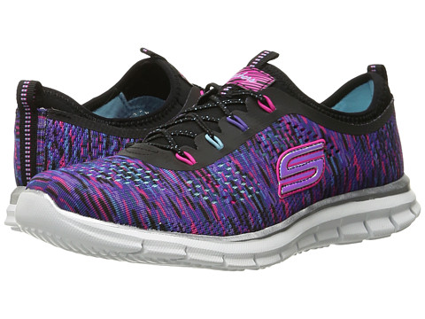 SKECHERS KIDS Glider - Deep Space 81287L (Little Kid/Big Kid) - Black/Multi