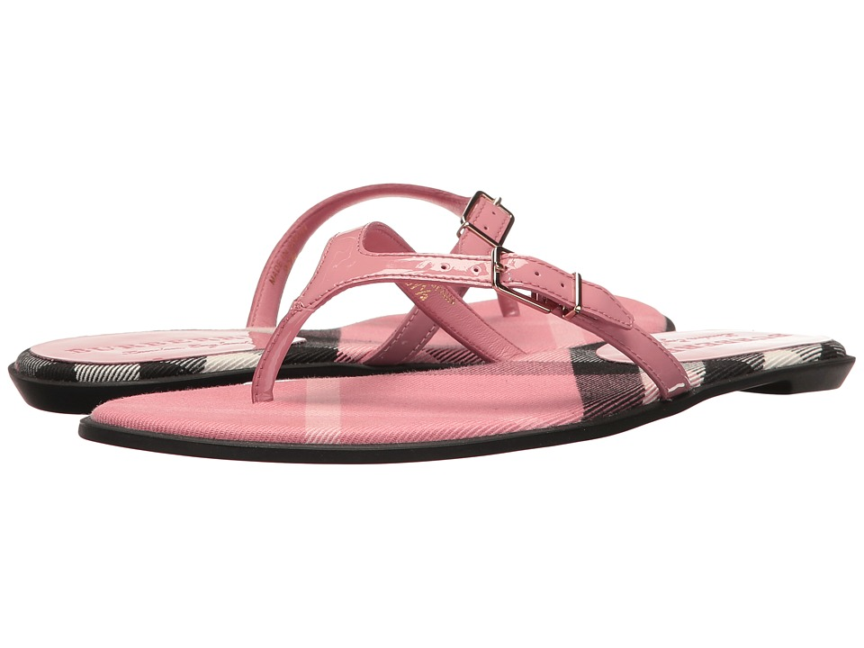 Burberry - Meadow (Berry Pink) Women's Sandals