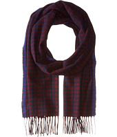 COACH - Cashmere Micro Tattersall Scarf
