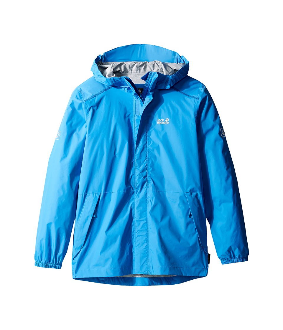Jack Wolfskin Kids Cloudburst Jacket (Little Kids/Big Kids) (Wave Blue) Boy