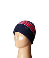 COACH - Cashmere Variegated Stripe Rib Hat
