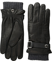 Embossed Leather 3-in-1 Gloves COACH