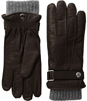 COACH - Embossed Leather 3-in-1 Gloves