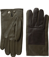 Color Block Nappa Leather Gloves COACH
