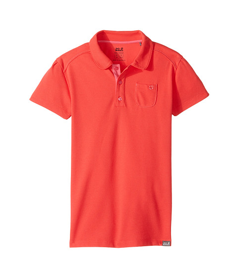 Jack Wolfskin Kids Pique Polo (Little Kids/Big Kids)