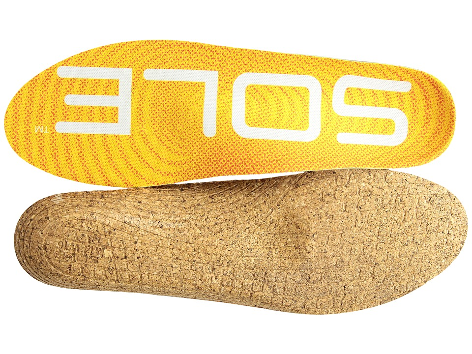 SOLE - Active Thin + Met Pad (Yellow) Insoles Accessories Shoes