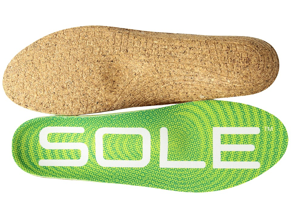 SOLE - Active Medium + Met Pad (Green) Insoles Accessories Shoes