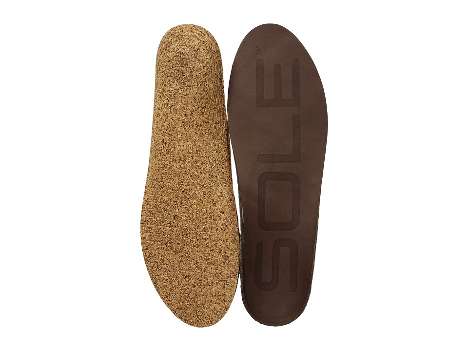 SOLE - Casual Thick (Dark Brown) Insoles Accessories Shoes