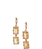 Vince Camuto - Leverback Double Drop Stone Earrings