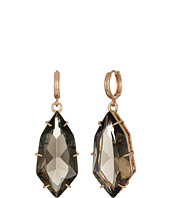 Vince Camuto - Click Back Huggie Stone Drop Earrings