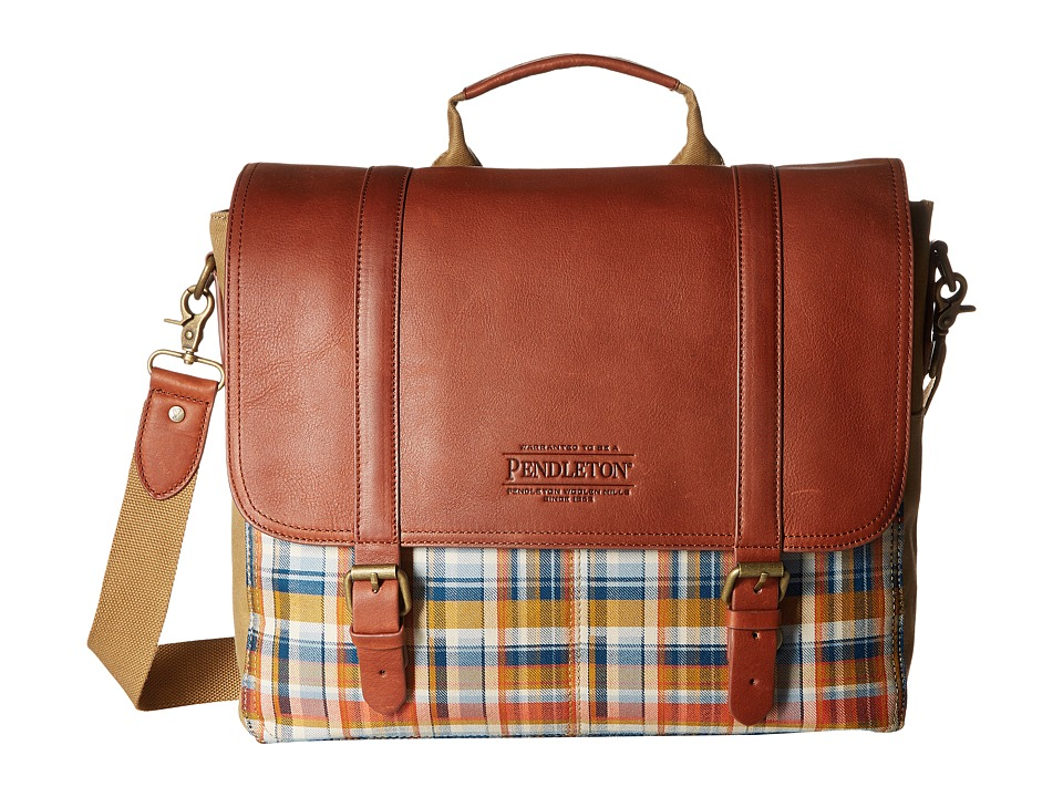 Pendleton - Modern Messenger (Hudson Plaid) Messenger Bags
