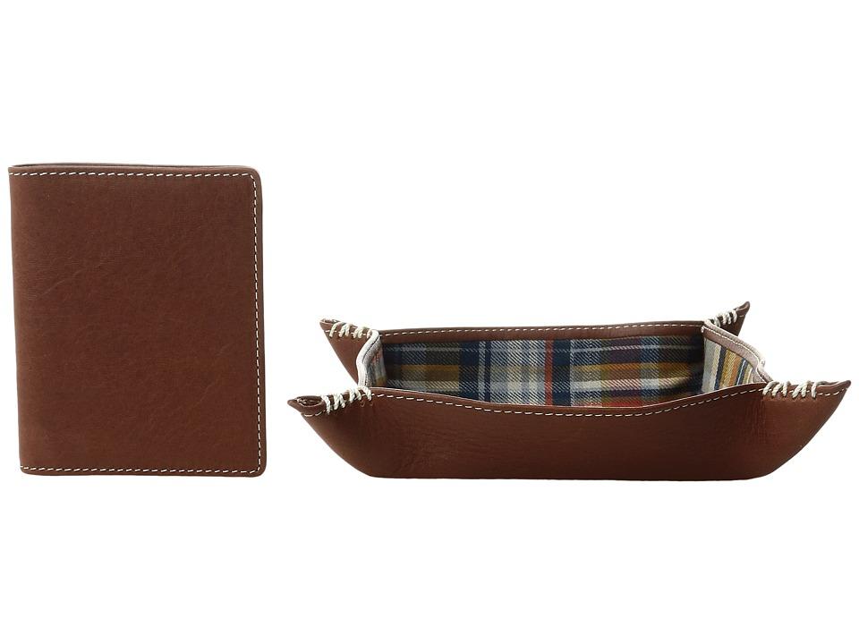 Pendleton Valet Tray Wallet Gift Set (Hudson Plaid) Walle...