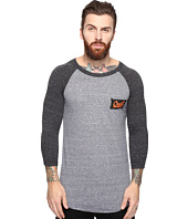 O'Neill - The Bay Raglan Long Sleeve Screens Impression T-Shirt