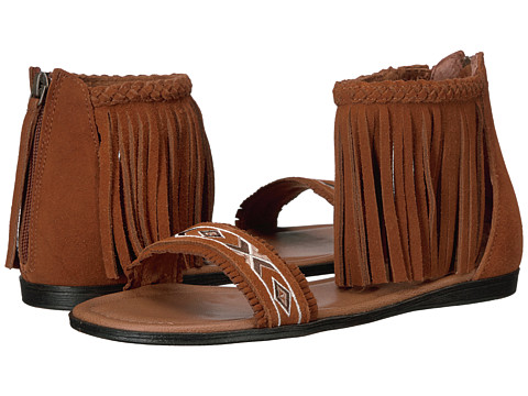 Minnetonka Morocco - Brown Suede