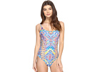 Red Carter - Beauty & The Beach Side Cut Out One-Piece