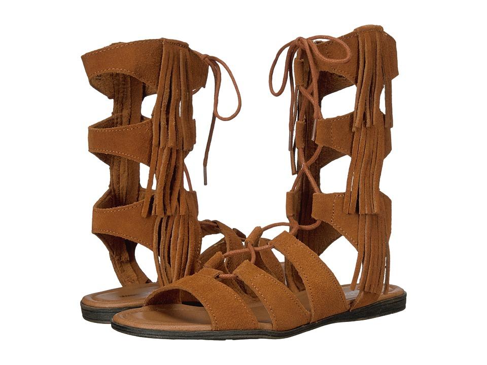 Minnetonka - Milos (Brown Suede) Womens Dress Sandals