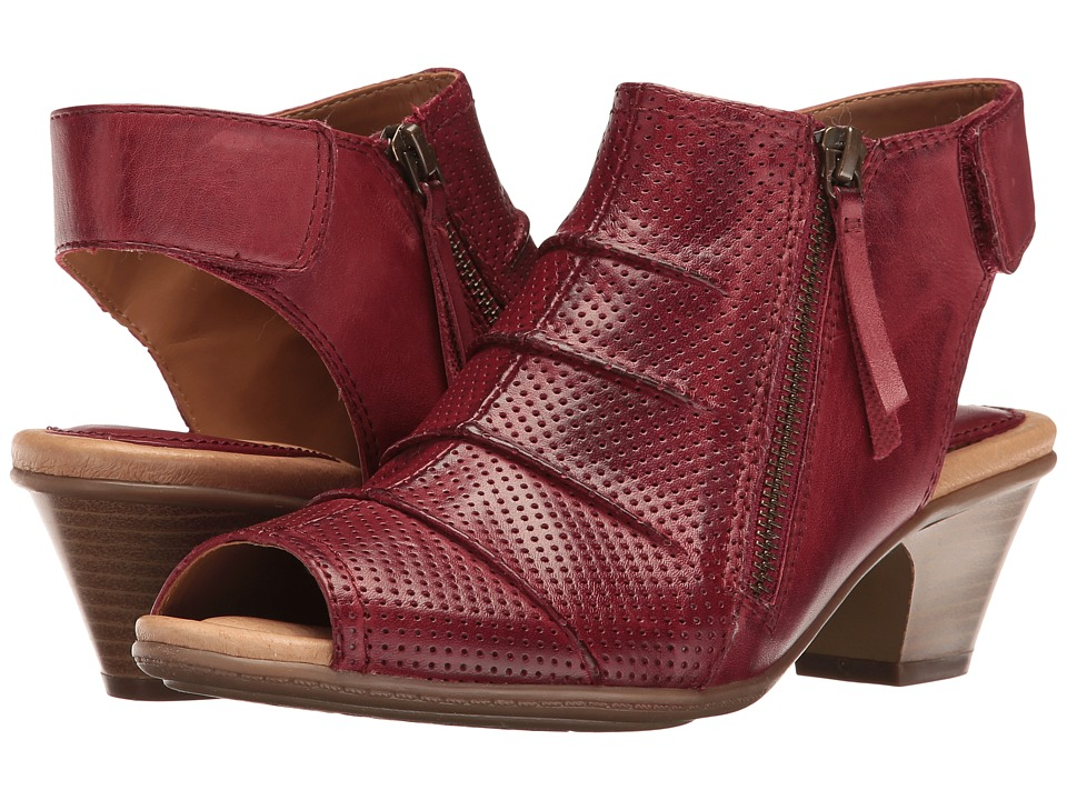 Earth Hydra (Regal Red Soft Leather) Women