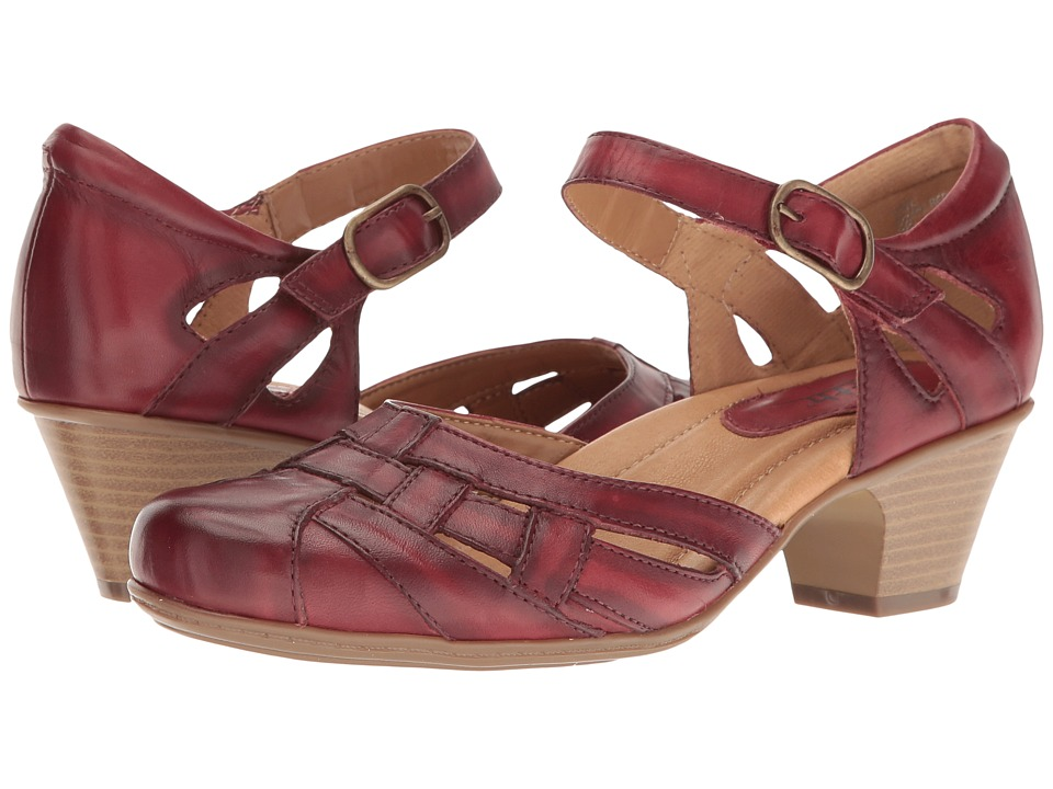 Earth Lynx (Regal Red Soft Leather) Women