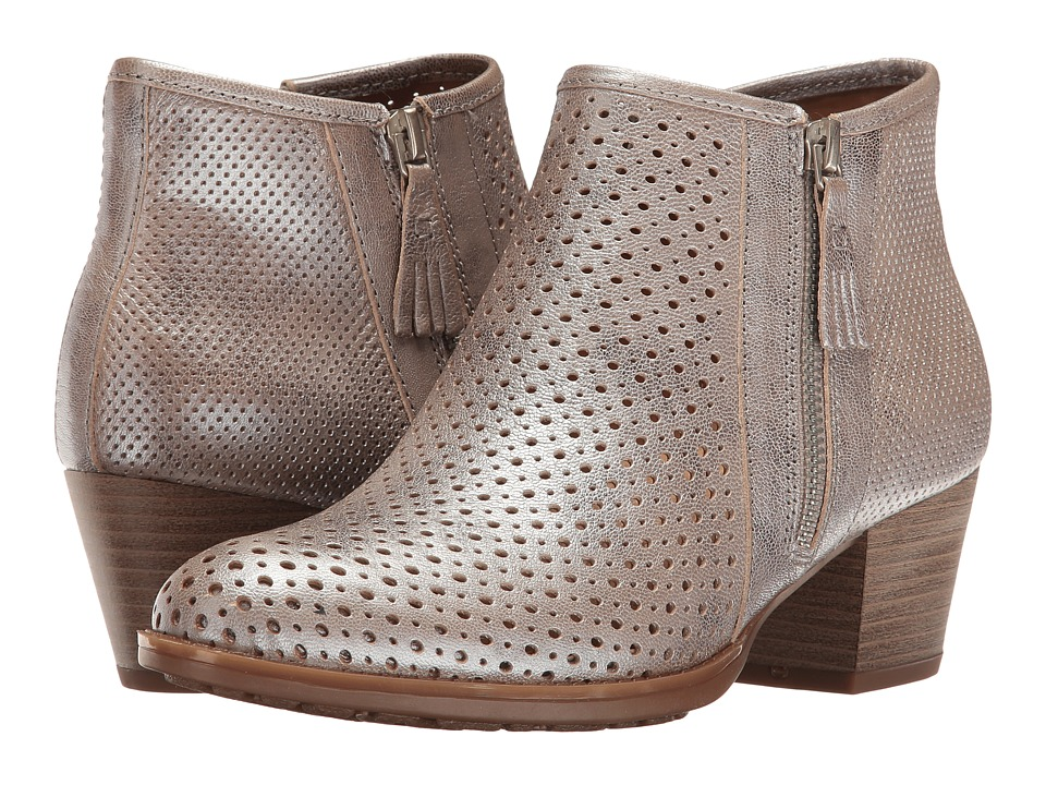Earth Pineberry (Silver Metallic Leather) Women