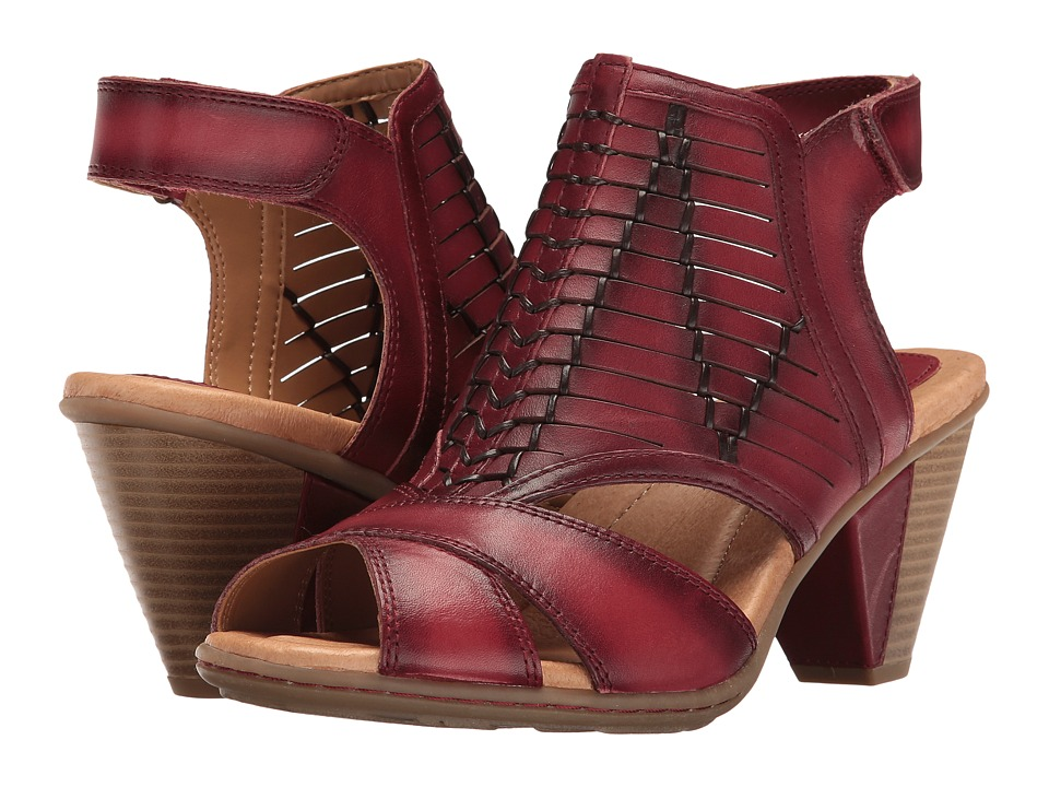 Earth Libra (Regal Red Soft Leather) Women