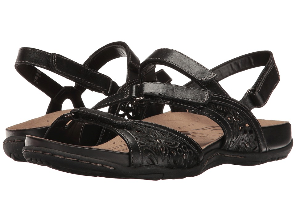 Earth Maui (Black Soft Leather) Women's Shoes