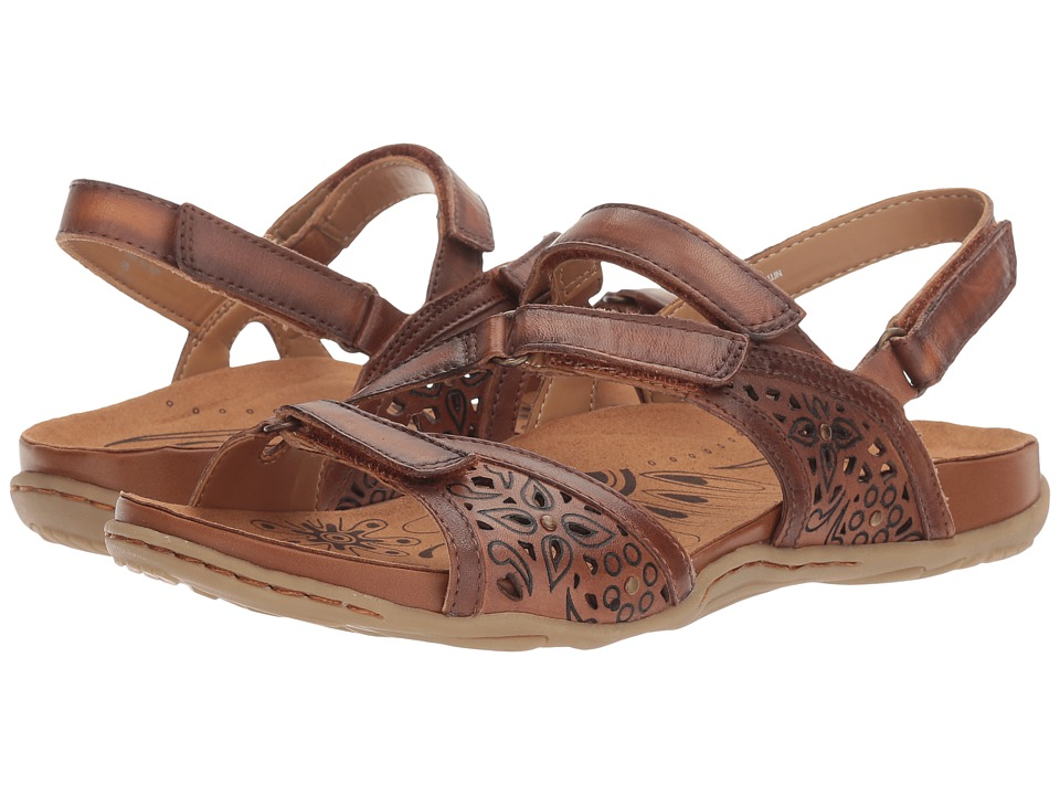 Earth Maui (Sand Brown Soft Leather) Women's Shoes