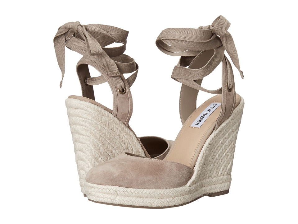 Steve Madden Barre (Taupe Suede) Women