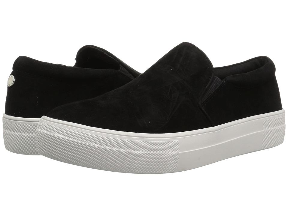 Steve Madden Gills Sneaker (Black Suede) Women's Shoes