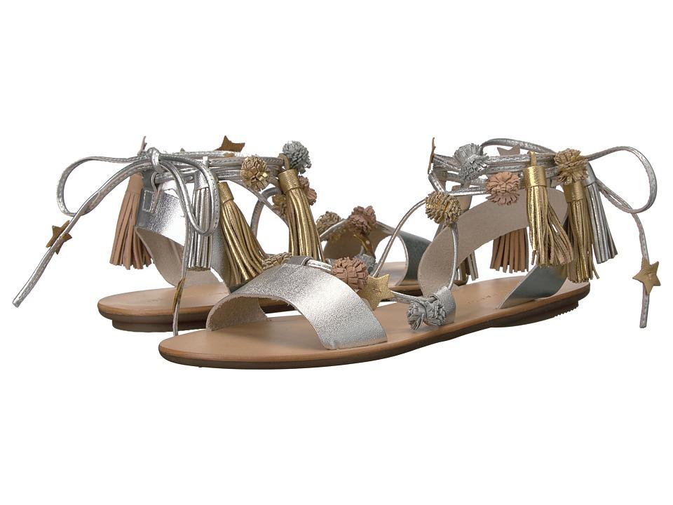 Loeffler Randall Suze (Silver/Multi Leather) Women's Shoes