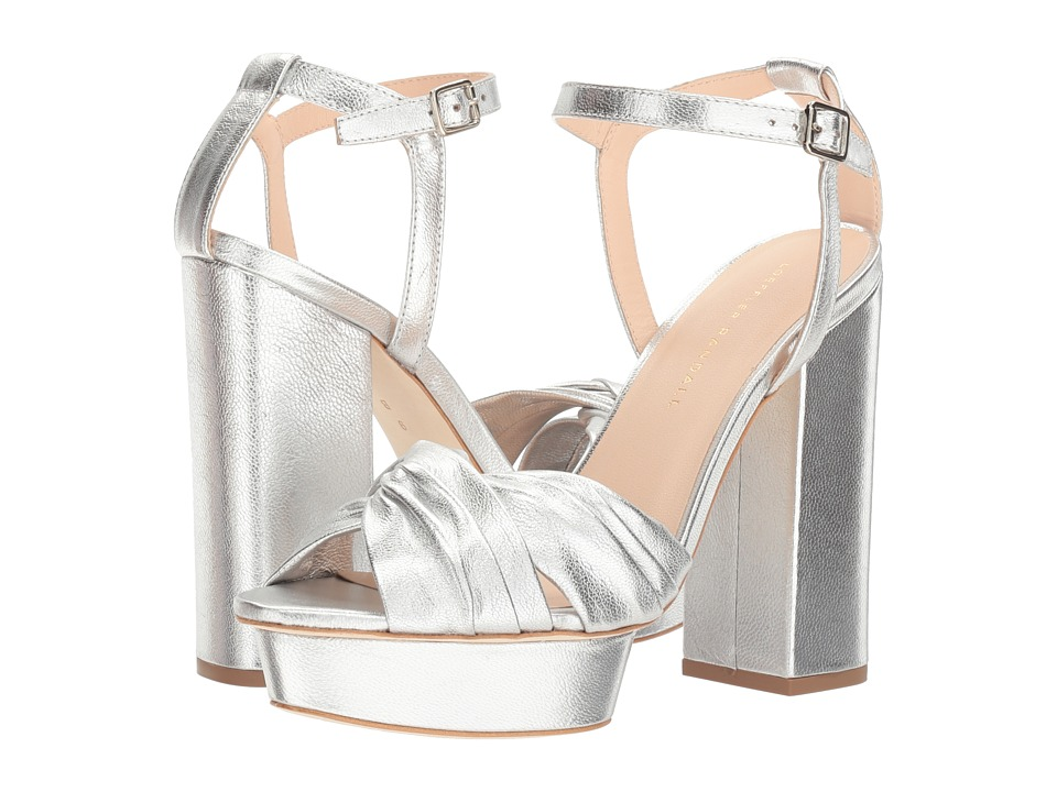 Loeffler Randall Arbella (Silver Leather) Women
