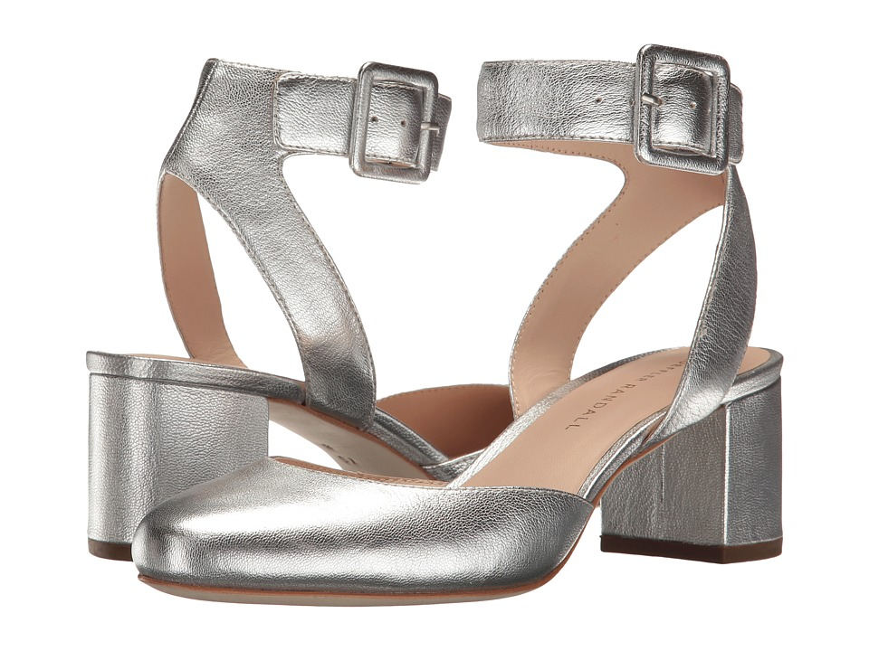 Loeffler Randall Cami (Silver Leather) Women