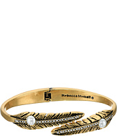 Rebecca Minkoff - Feather Oval Hinge Bracelet