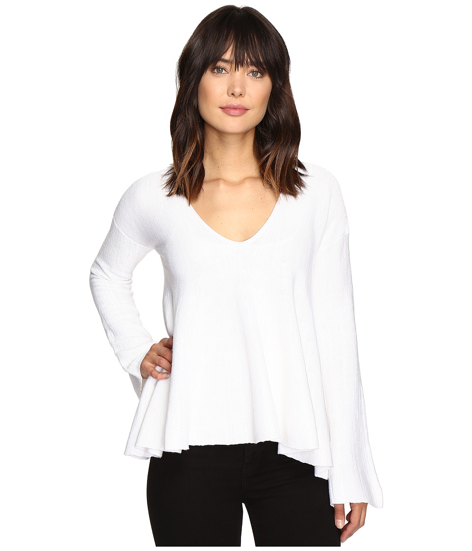Free People Sundae Pullover Sweater (White) Women