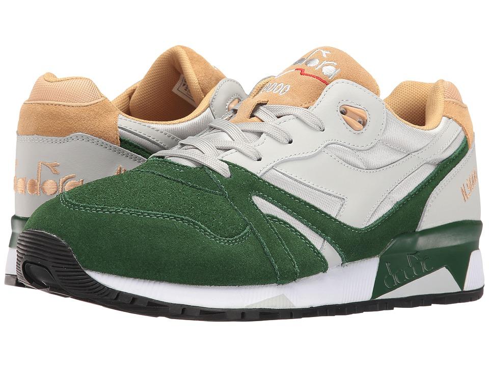Diadora - N9000 Double L (Gray Violet/Greener Past/Sand) Mens Shoes