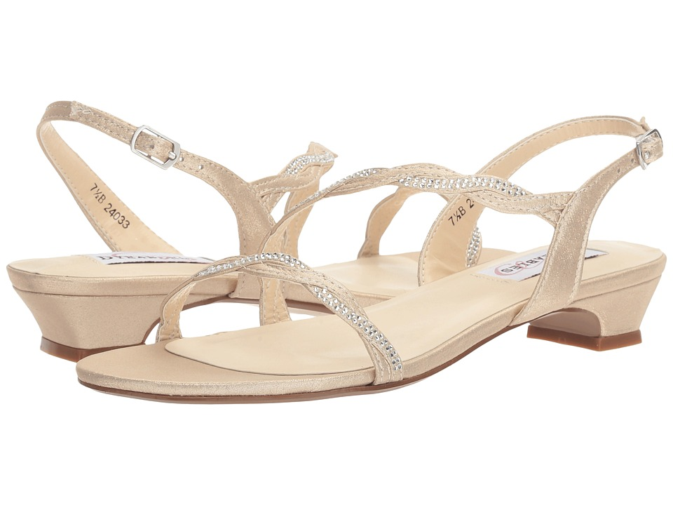 Touch Ups Jasper by Dyeables (Nude Shimmer) Women's Shoes