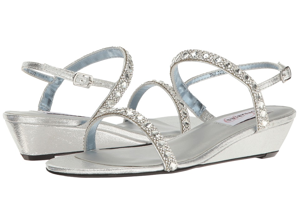 Touch Ups Jasmine by Dyeables (Silver Shimmer) Women's Shoes
