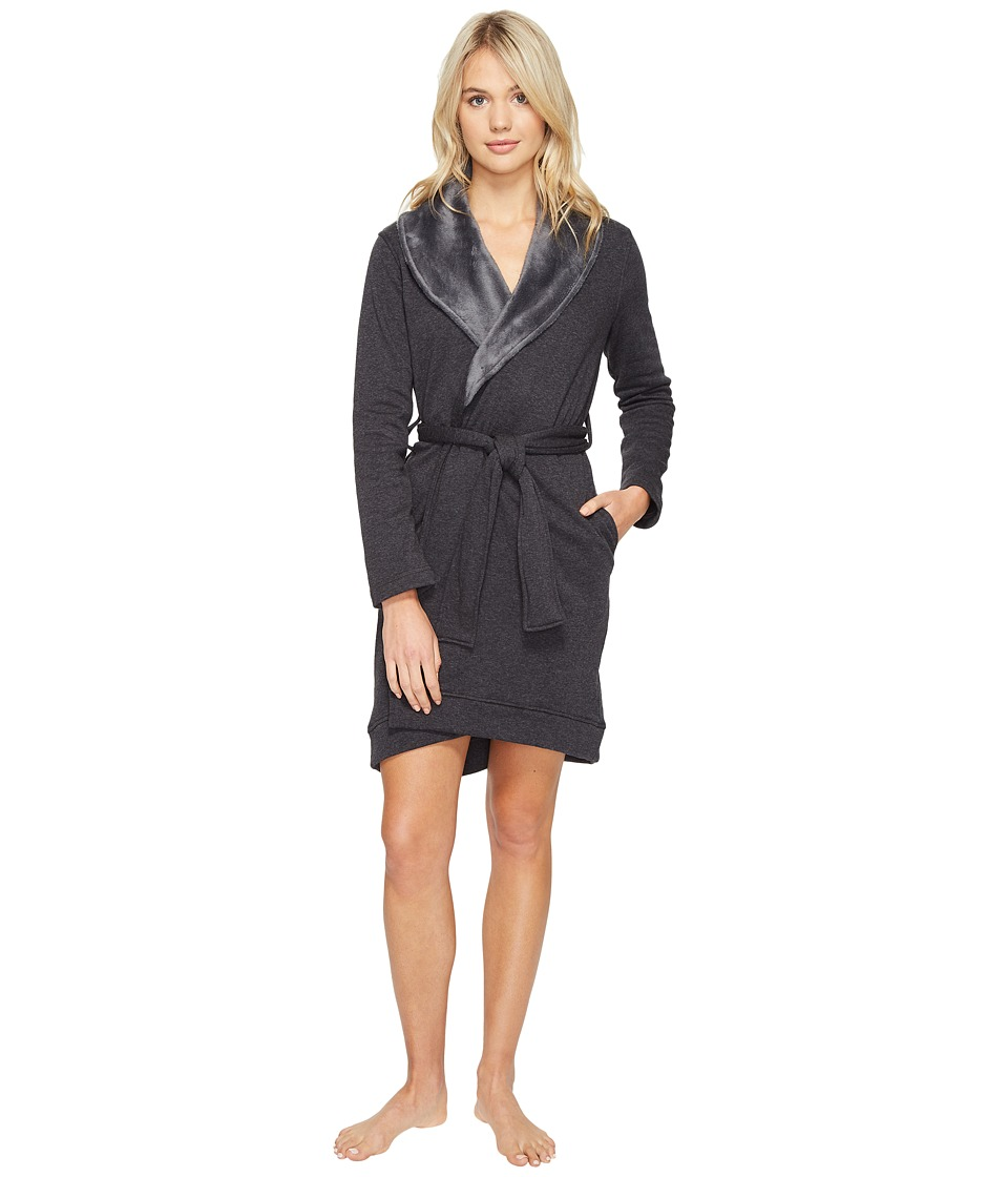 Ugg Blanche Robe (Black Bear Heather) Women's Robe