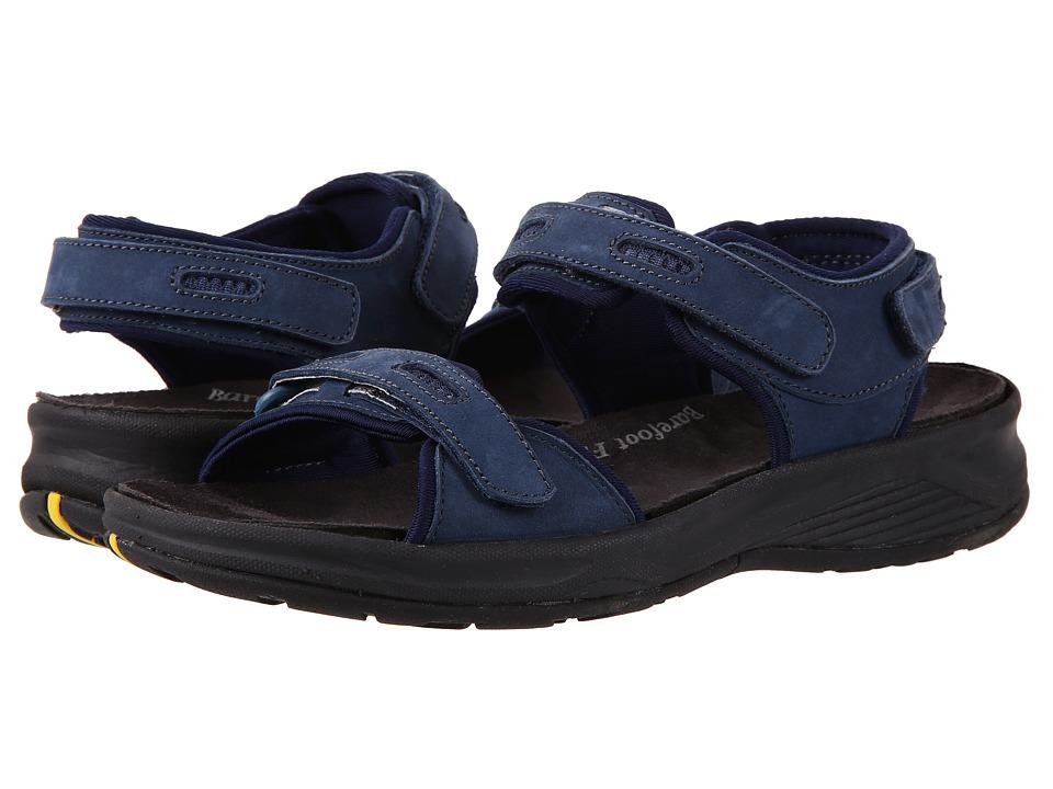 Drew Cascade (Navy Nubuck) Sandals